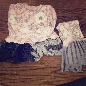 Sweet Giggle Moon outfit with fancy details